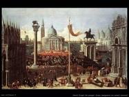 heintz joseph the younger  Scena immaginaria con palazzi veneziani