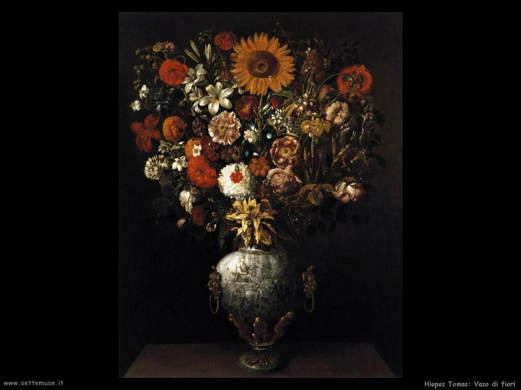 hiepes tomas Vaso di fiori