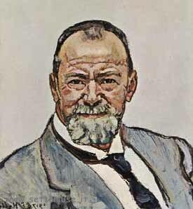 Ritratto di Hodler Ferdinand