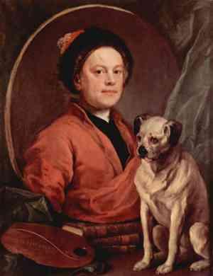 Ritratto di William Hogarth