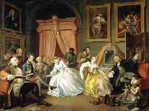 Dipinto di William Hogarth