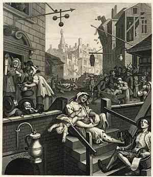 Illustrazione di William Hogarth
