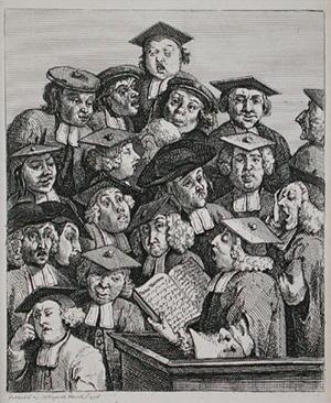 Disegno di William Hogarth