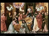 holbein hans the elder Morte della Vergine