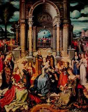 Dipinto di Hans Holbein The Elder