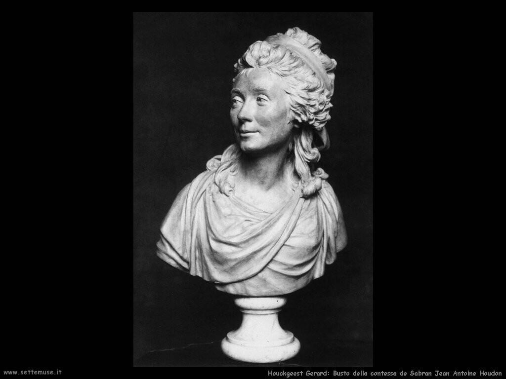 houckgeest gerard   Busto della contessa de Sabran Jean Antoine Houdon
