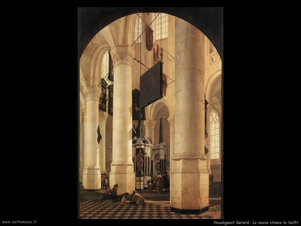 houckgeest gerard Nuova chiesa in Delft