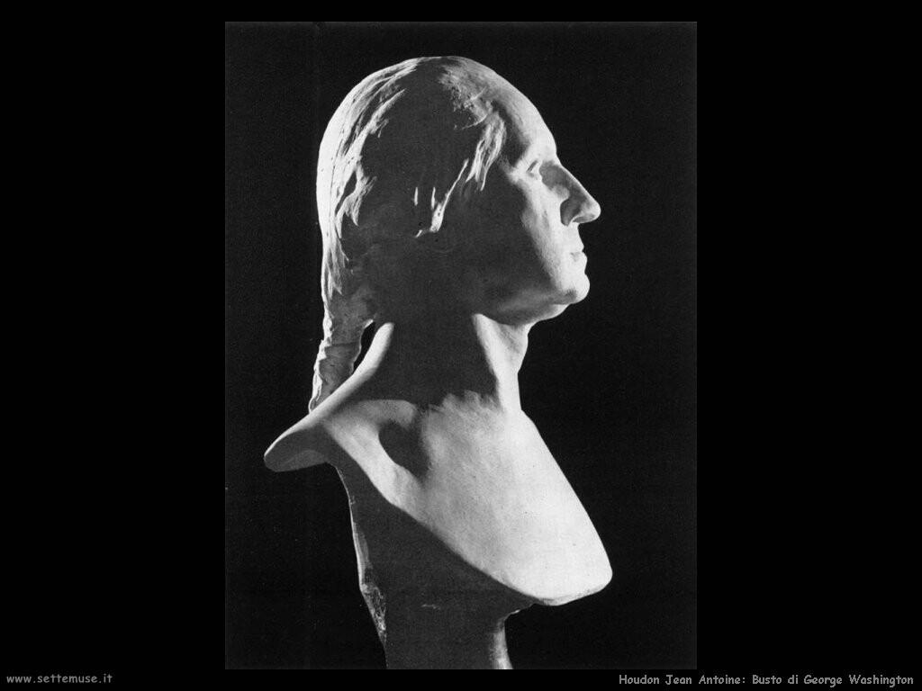 houdon jean antoine Busto di George Washington