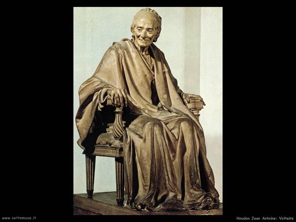 houdon jean antoine  Voltaire