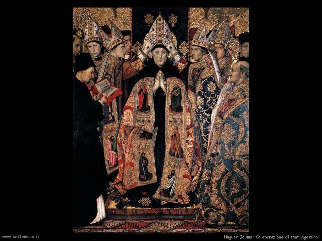 huguet jaume La consacrazione di sant'Agostino
