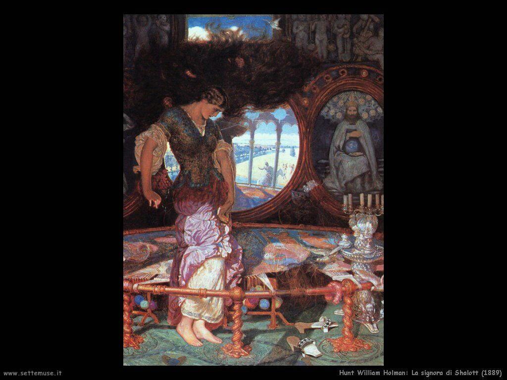 hunt_william_holman The lady of Shalott (1889)