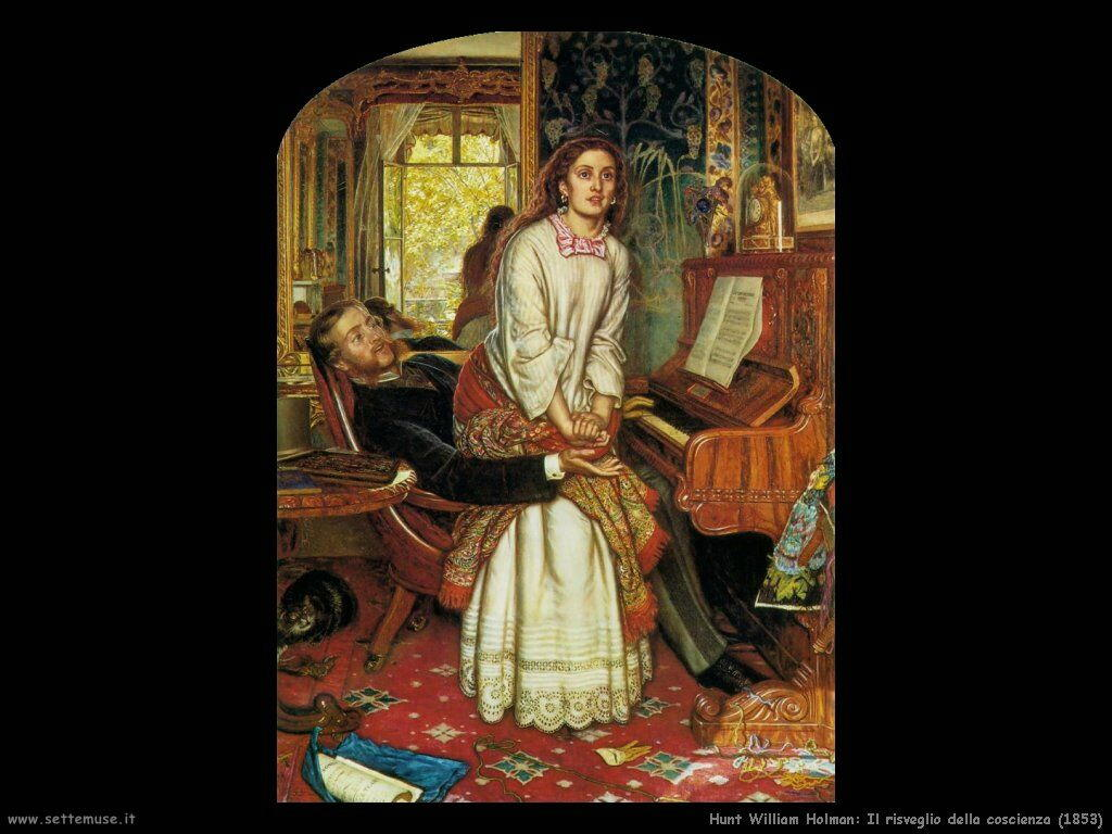 Matrimonio Tema Arte : Hunt william holman pittore biografia foto opere