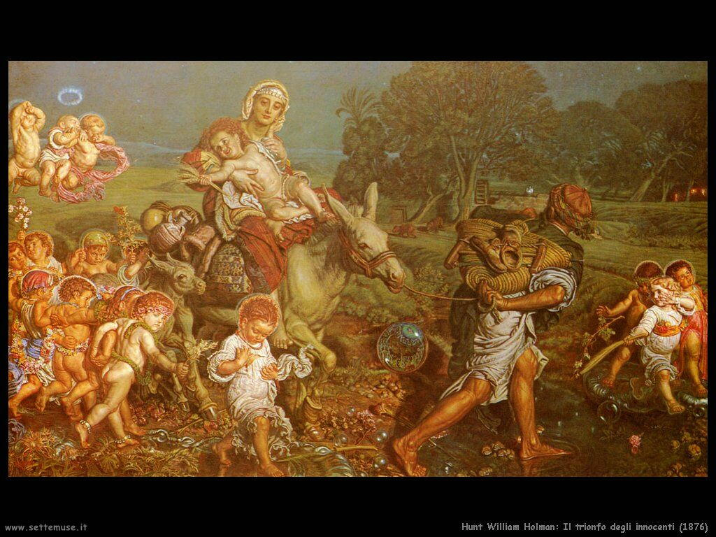 hunt_william_holman Il trionfo degli innocenti (1876)