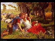 hunt_william_holman Il corteggiamento del pastore (1851)