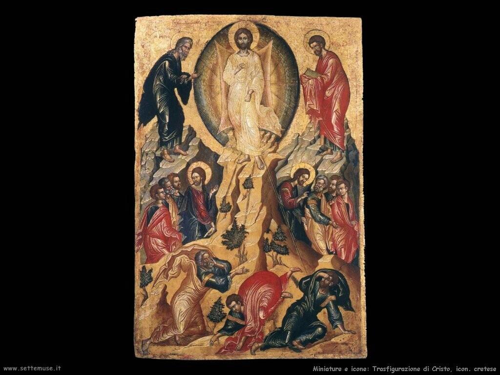 trasfigurazione cristo cretese