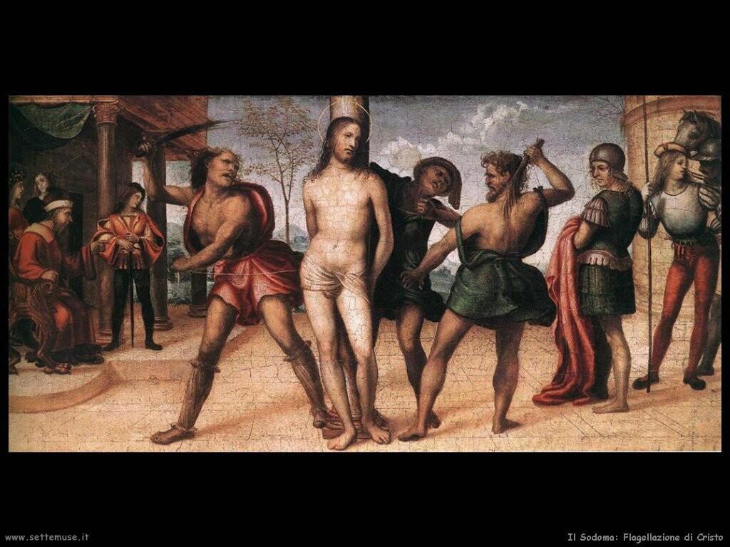 il sodoma Flagellazione di Cristo