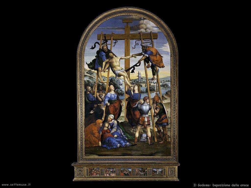 il sodoma Deposizione dalla croce