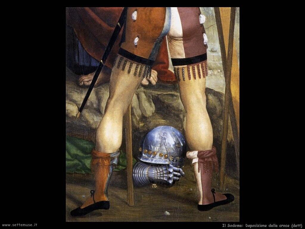 il sodoma Deposizione dalla croce (dett)