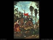 il sodoma  San Giorgio e il drago