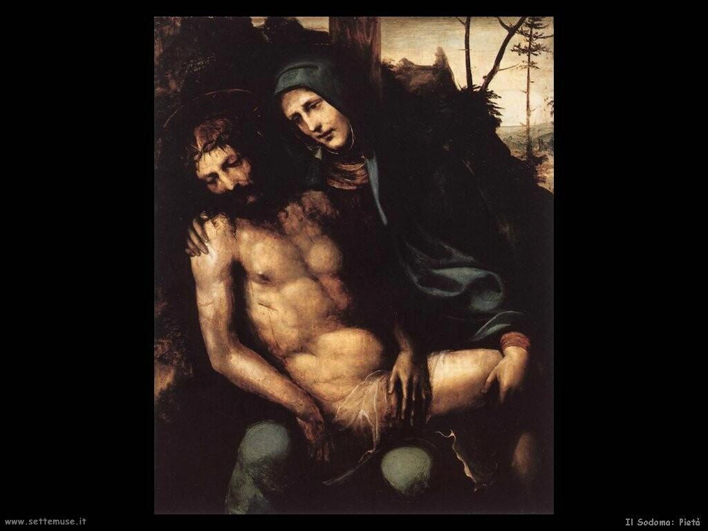 il sodoma  Pietà