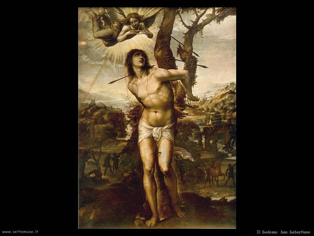 il sodoma San Sebastiano