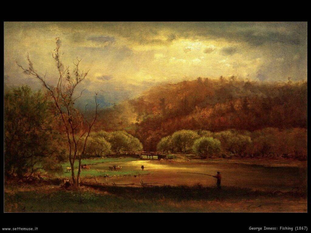 inness george   Pescatori (1867)