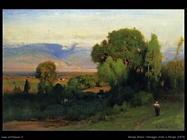 inness george Paesaggio vicino a Perugia (1876)