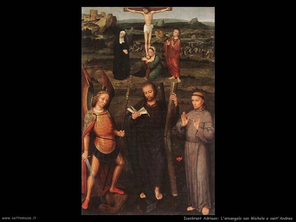 isenbrant adriaen Arcangelo san Michele e sant'Andrea