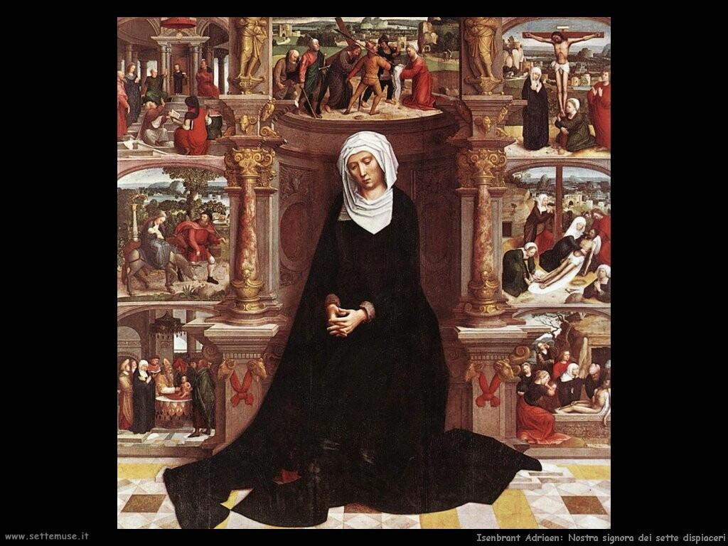 isenbrant adriaen Nostra signora dei sette dispiaceri