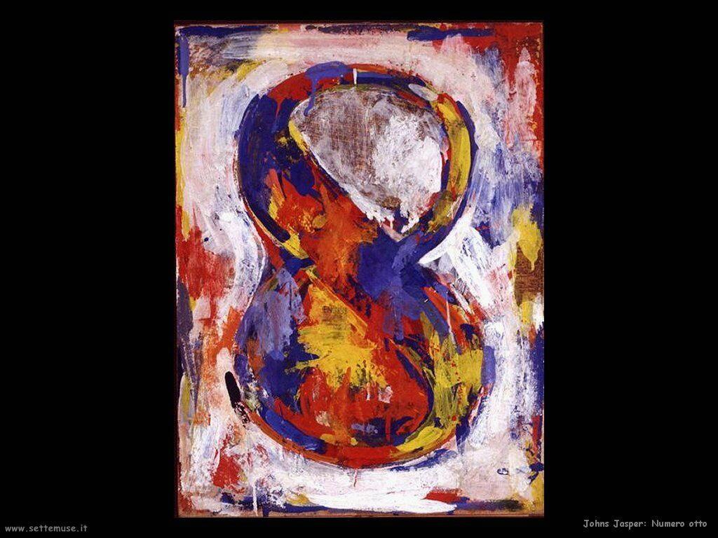 Jasper Johns: Numero otto