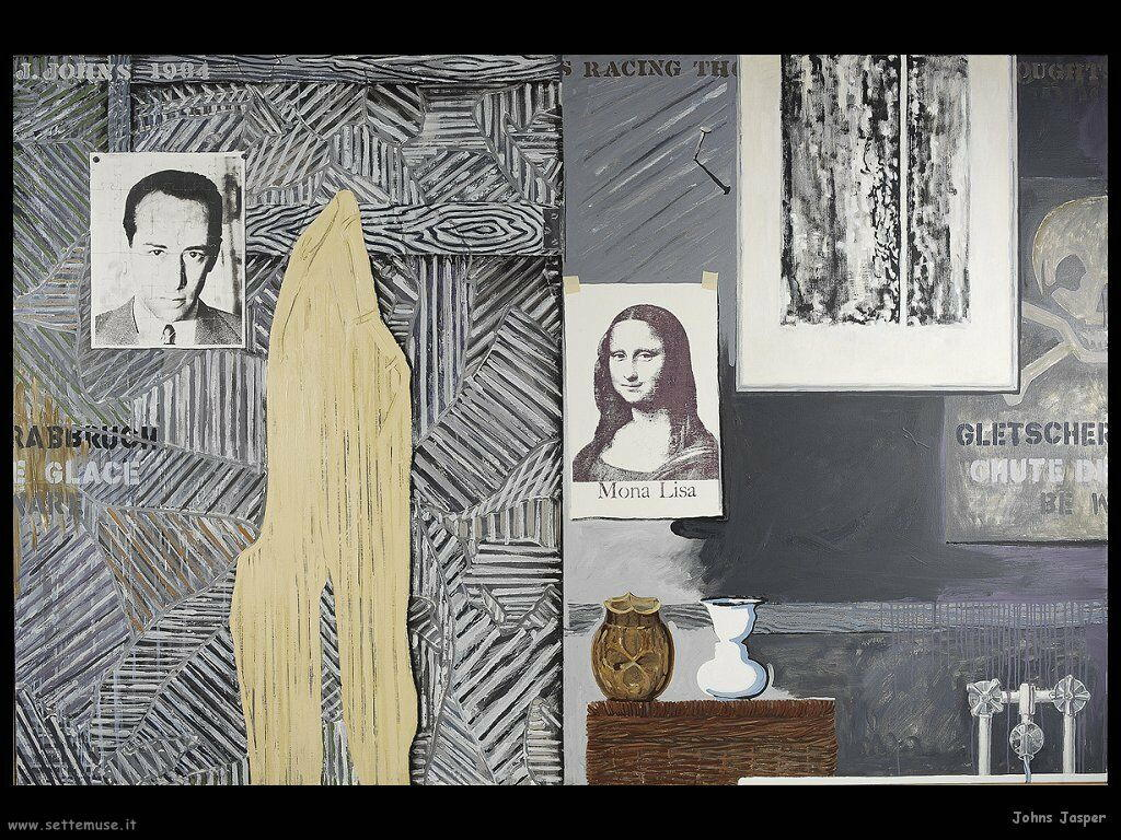 Jasper Johns: Racing Thoughts (1983)
