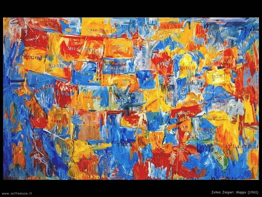 Jasper Johns: Mappa (1961)