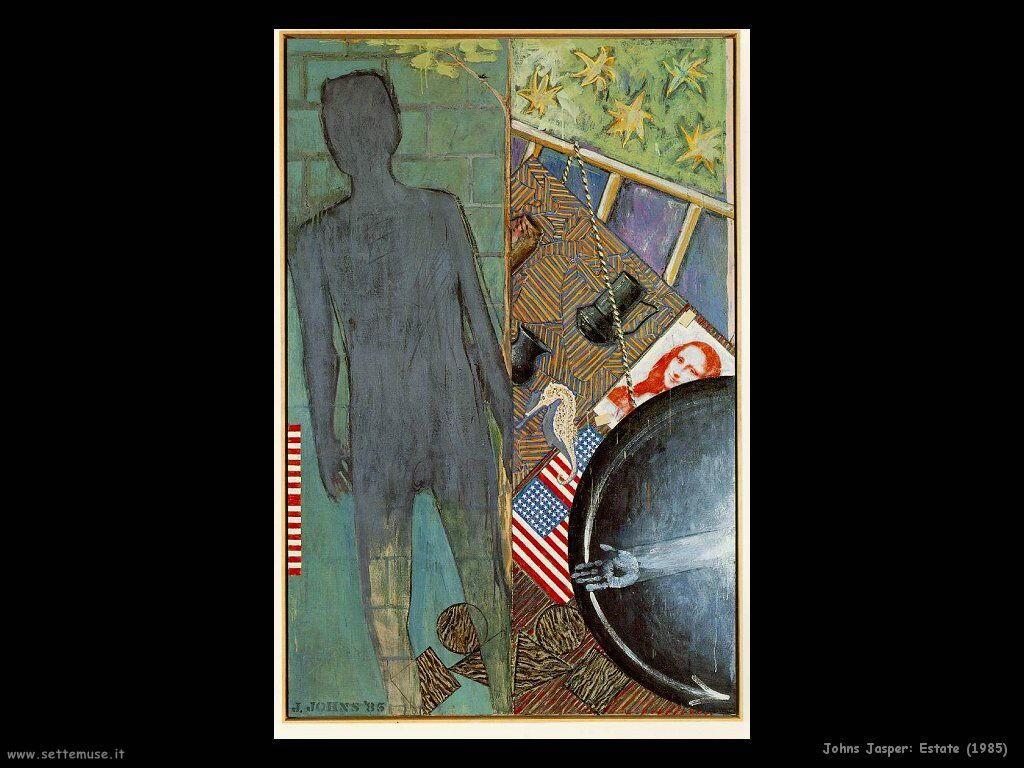 Jasper Johns: Estate (1985)
