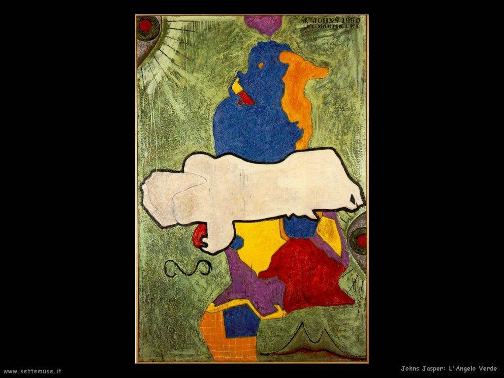 Jasper Johns: Angelo Verde