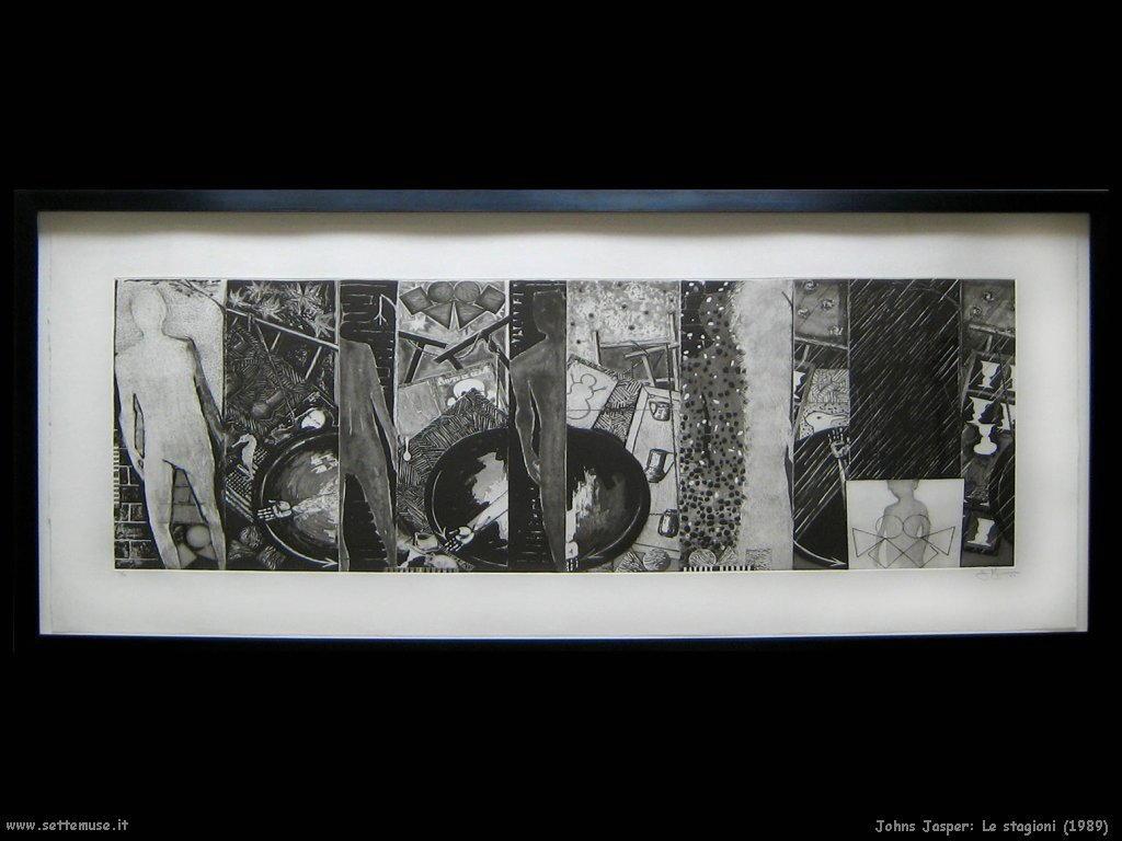 Jasper Johns: Le stagioni 1989