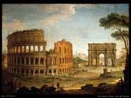 joli antonio Roma, vista del Colosseo