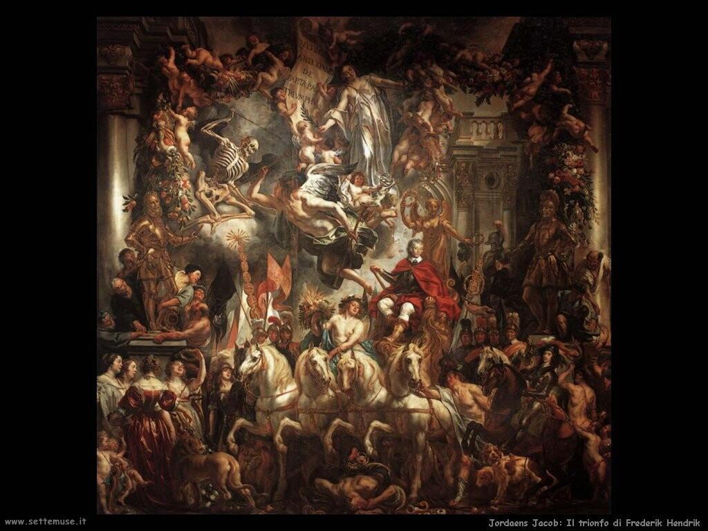 jordaens jacob   Trionfo di Frederik Hendrik