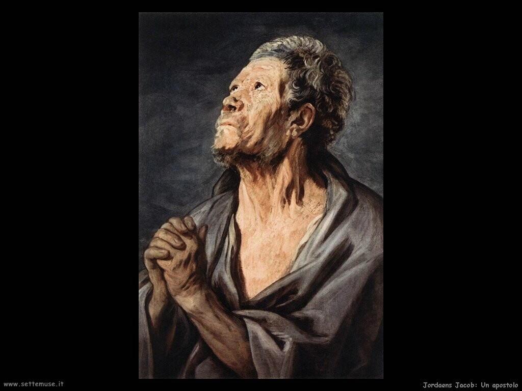 jordaens jacob   Un apostolo