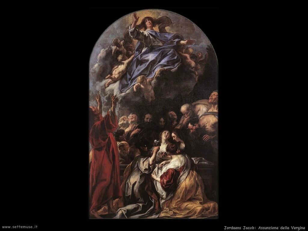 jordaens jacob Assunzione della Vergine