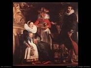 jordaens jacob La famiglia dell'artista
