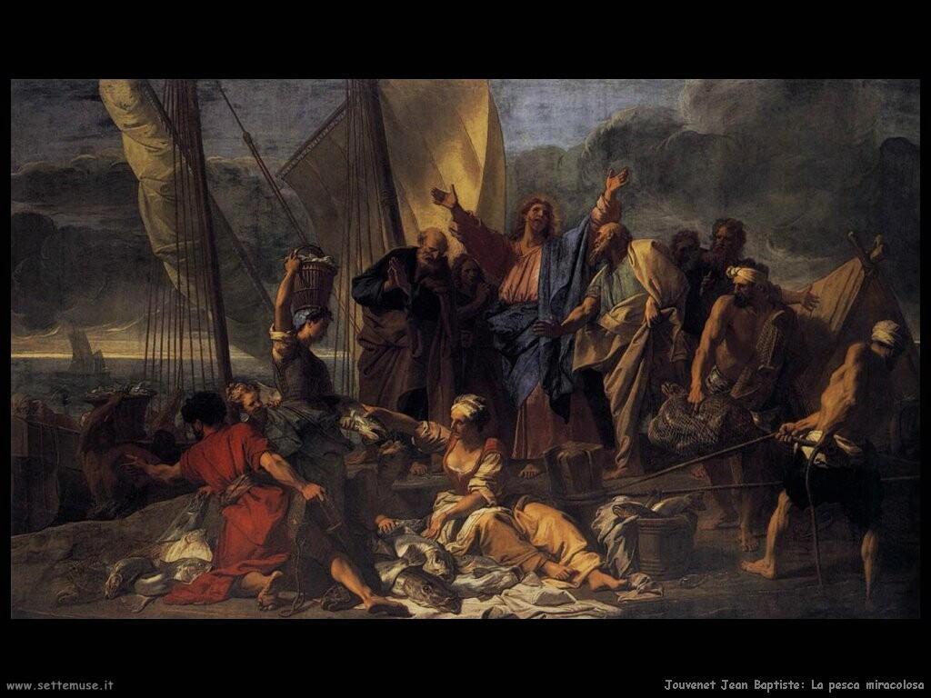 jouvenet jean baptiste La pesca miracolosa