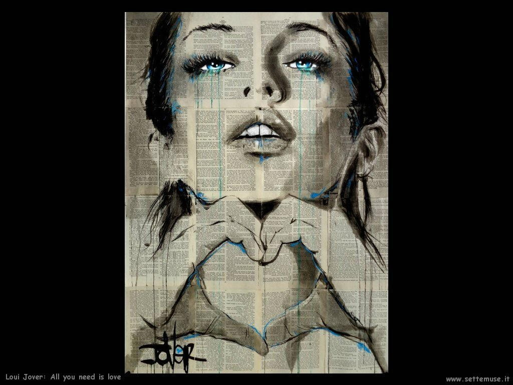 loui jover all you need is love