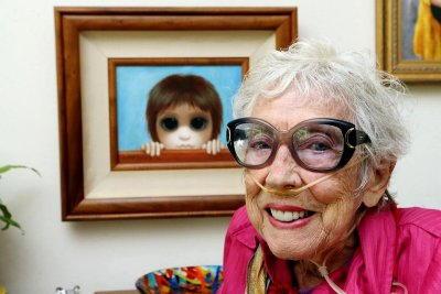 Margaret Keane da vecchia