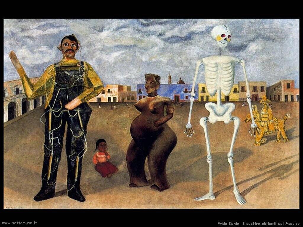 frida kahlo   i_quattro_abitanti_del_messico