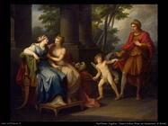 kauffmann angelica Venere induce Elena ad innamorarsi di Paride