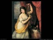 kauffmann angelica Ritratto di donna