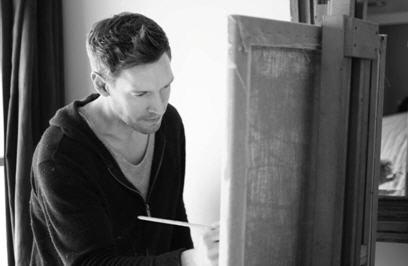 Kinsman Andrew pittore e musicista