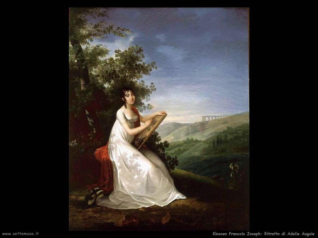 kinsoen francois joseph Ritratto di Adelie Auguie