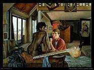 klarwein_matias artista_e_modella_1959