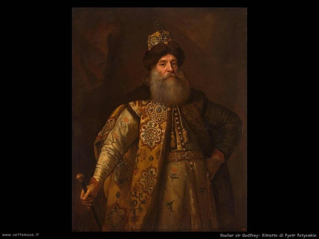 kneller sir godfrey Ritratto di Pyotr Potyomkin